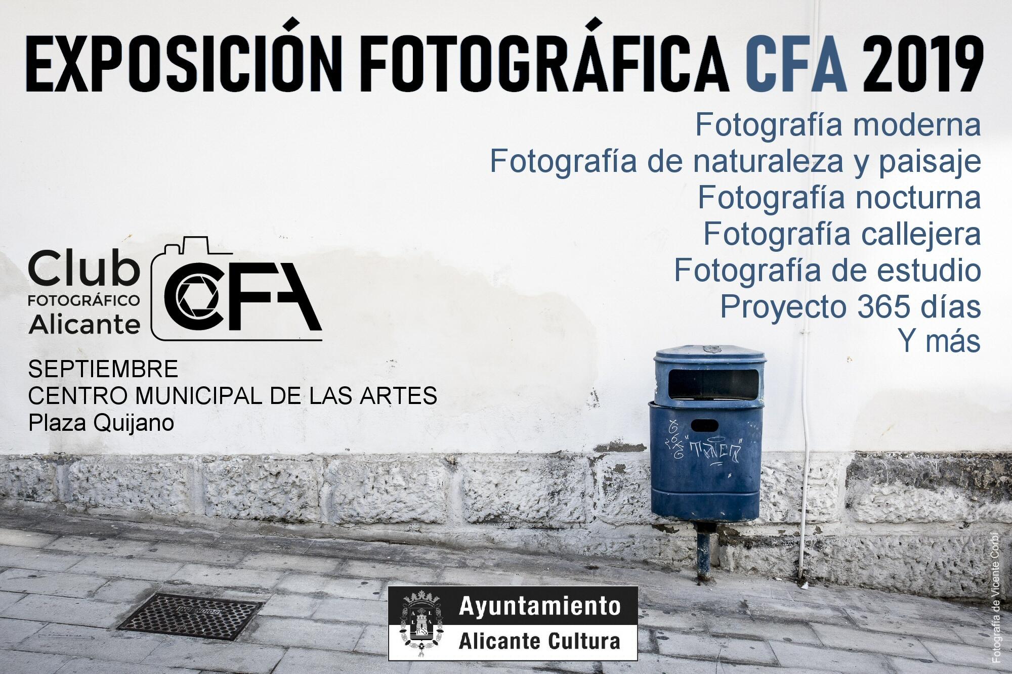 EXPOSICIÓN FOTOGRÁFICA CFA 2019